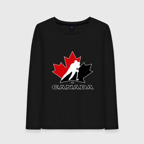 Женский лонгслив хлопок Canada