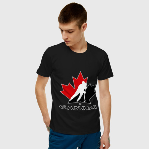 Мужская футболка хлопок Canada Фото 01