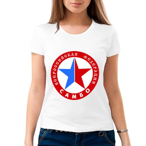 Женская футболка хлопок  Фото 03, Федерация САМБО