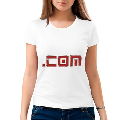Женская футболка хлопок  Фото 03, Domen