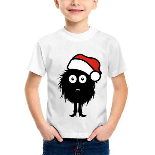 Детская футболка синтетическая Рождественнский лохмач от Всемайки