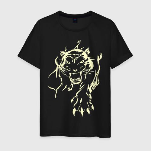Мужская футболка хлопок Пантера (2)