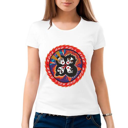Женская футболка хлопок  Фото 03, Kiss(2)
