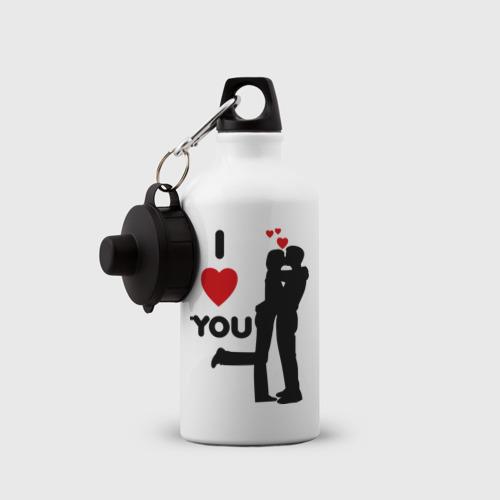 Бутылка спортивная  Фото 03, Love you (2)