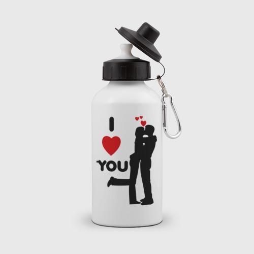Бутылка спортивная  Фото 01, Love you (2)