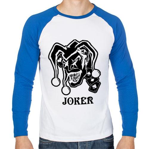 Мужской лонгслив реглан Joker(2)