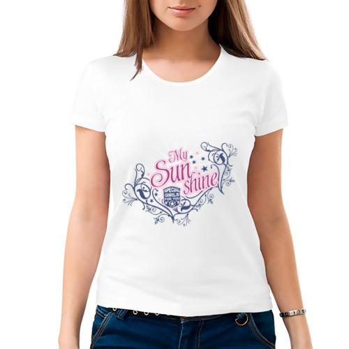 Женская футболка хлопок  Фото 03, My sun shine