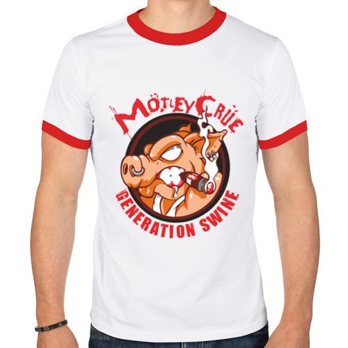 Мужская футболка рингер  Фото 01, Motley Crue(2)