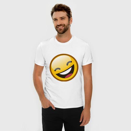 Мужская футболка премиум  Фото 03, Emoticons tonygines (1)