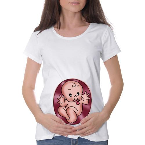 Футболка для беременных хлопок Дразнилка