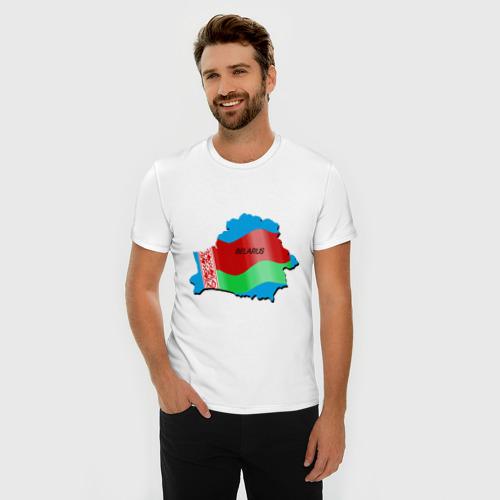 Мужская футболка премиум  Фото 03, Белоруссия