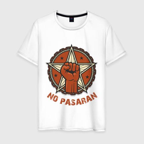 Мужская футболка хлопок No Pasaran Фото 01