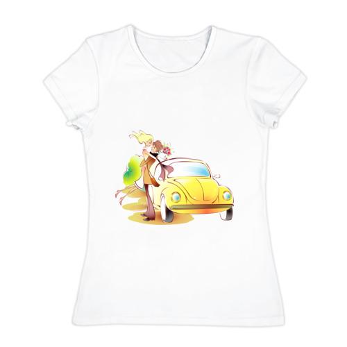 Женская футболка хлопок  Фото 01, Love (10)