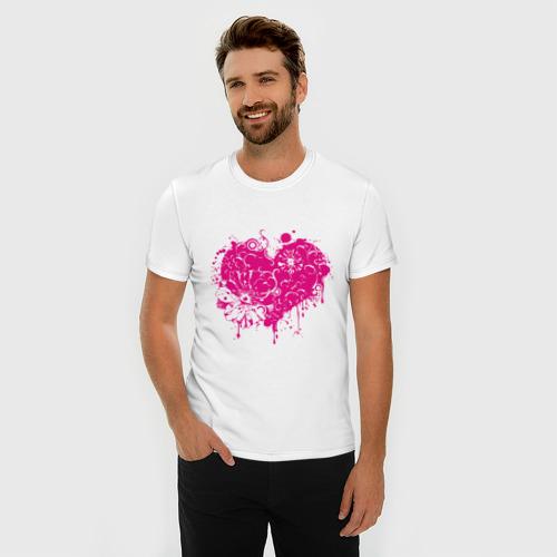 Мужская футболка премиум  Фото 03, Heart (5)
