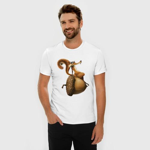 Мужская футболка премиум  Фото 03, Ледниковый период
