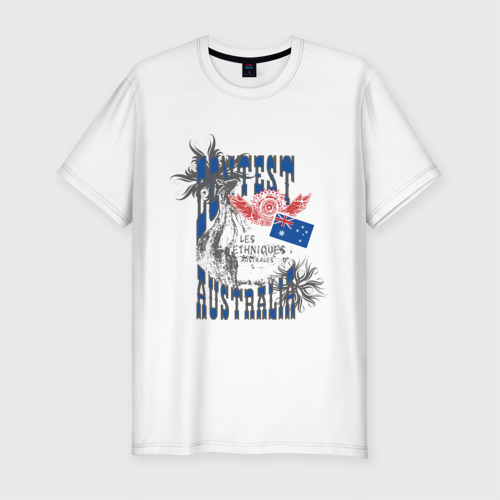Мужская футболка премиум  Фото 01, Contest Australia