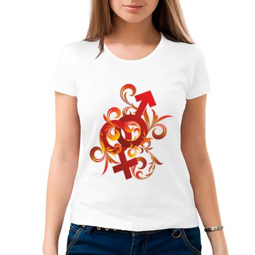 Женская футболка хлопок  Фото 03, Вместе навсегда