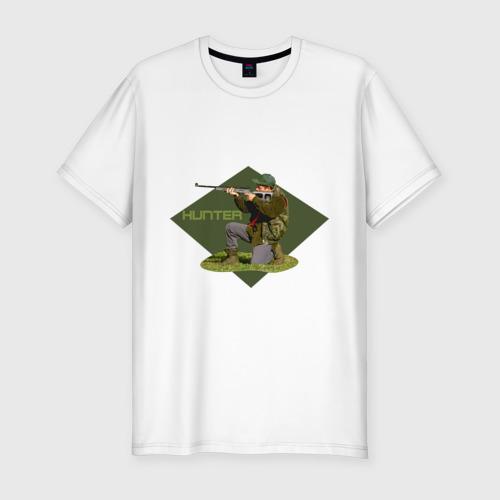 Мужская футболка премиум  Фото 01, Best hunter