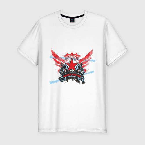 Мужская футболка премиум  Фото 01, Under United
