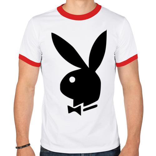 Мужская футболка рингер  Фото 01, Playboy