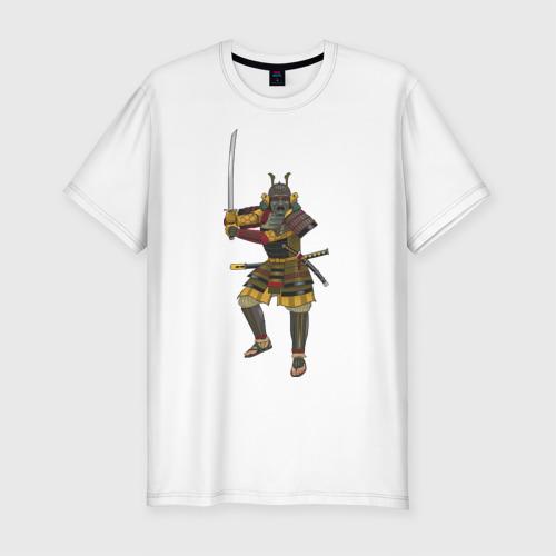 Мужская футболка премиум  Фото 01, Samuray