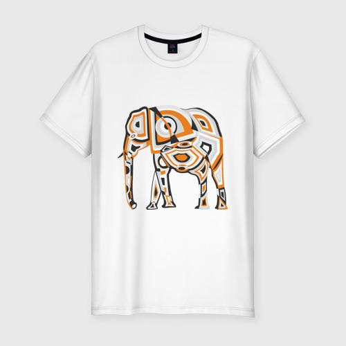 Мужская футболка премиум  Фото 01, Слон (2)
