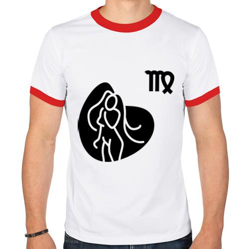 Мужская футболка рингер  Фото 01, Дева(6)