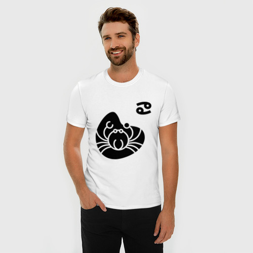 Мужская футболка премиум  Фото 03, Рак(6)