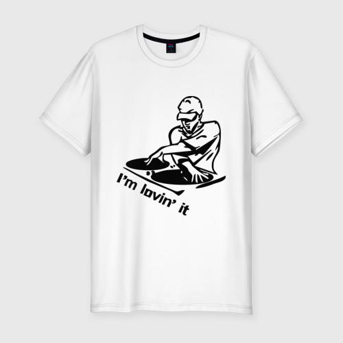 Мужская футболка премиум  Фото 01, I\'m lovin\' it (2)