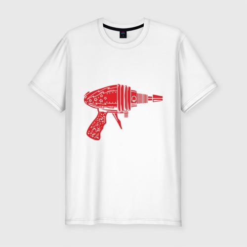 Мужская футболка премиум  Фото 01, Sheldon Cooper Flash Gun