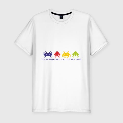 Мужская футболка премиум  Фото 01, Space invaders