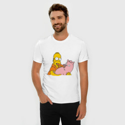 Гомер и свинья
