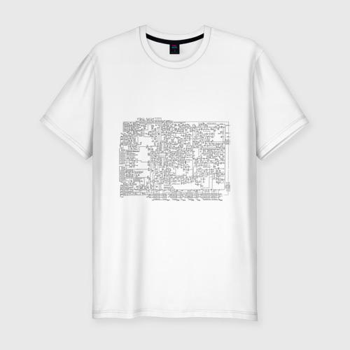 Мужская футболка премиум  Фото 01, Cхема принципиальная 2