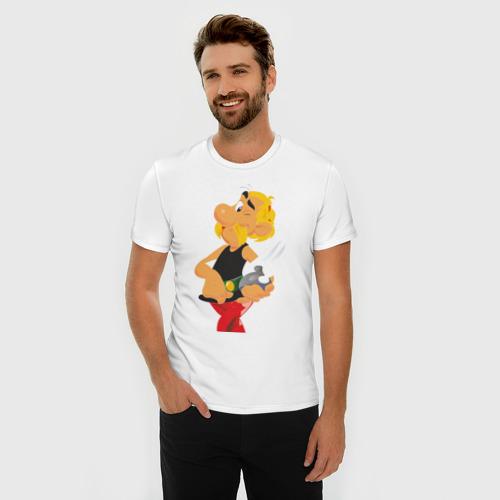 Мужская футболка премиум  Фото 03, Астерикс (1)
