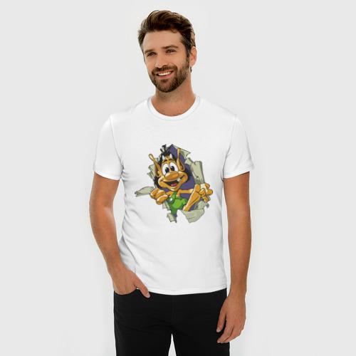 Мужская футболка премиум  Фото 03, Кузя