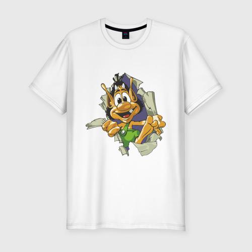 Мужская футболка премиум  Фото 01, Кузя