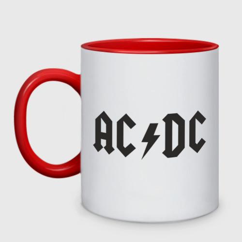 Кружка двухцветная  Фото 01, AC DC