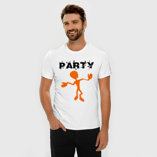 Мужская футболка премиум  Фото 03, Party