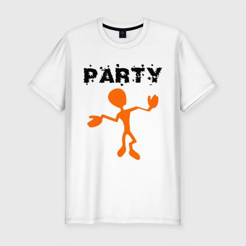Мужская футболка премиум  Фото 01, Party