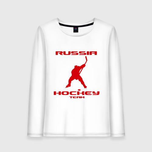 Женский лонгслив хлопок Хоккей (13)