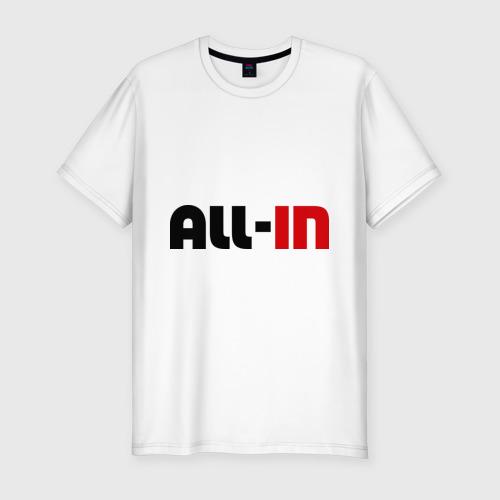 Мужская футболка премиум  Фото 01, All-in