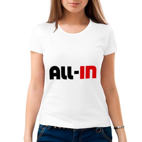 Женская футболка хлопок  Фото 03, All-in