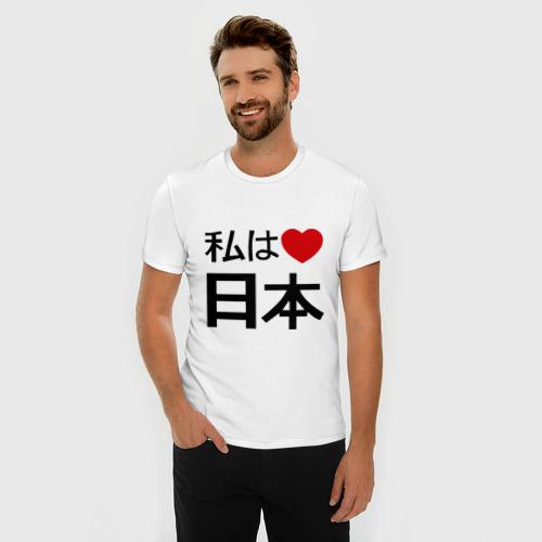 Мужская футболка премиум  Фото 03, Япония