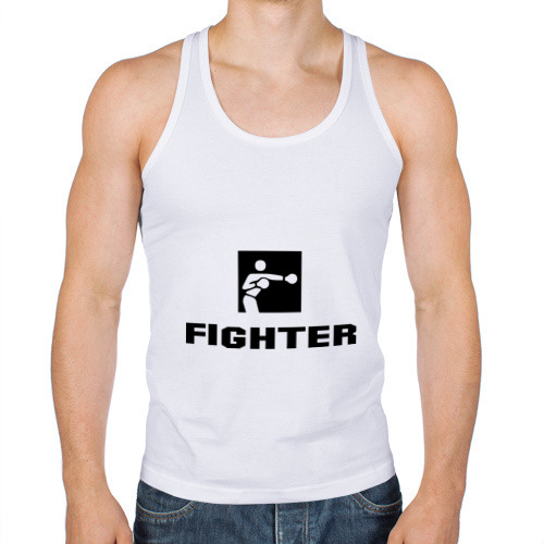 Мужская майка борцовка  Фото 01, Fighter