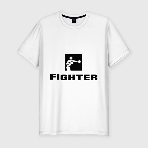Мужская футболка премиум  Фото 01, Fighter