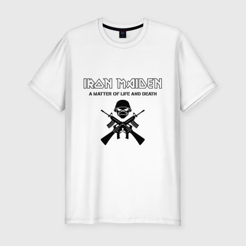 Мужская футболка премиум  Фото 01, Iron Maiden (2)