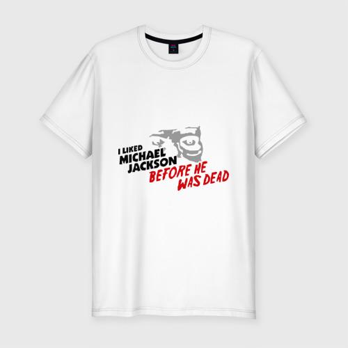 Мужская футболка премиум  Фото 01, Michael Jackson (12)
