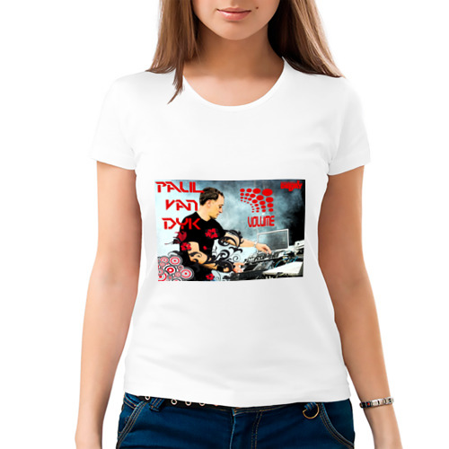 Женская футболка хлопок  Фото 03, Deejay