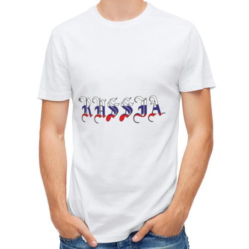 Мужская футболка полусинтетическая  Фото 01, Russia (2)