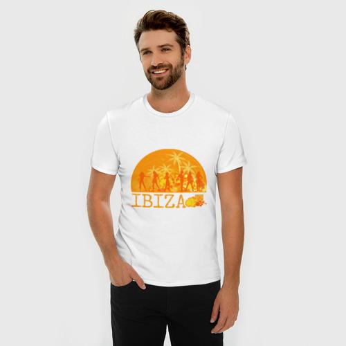 Мужская футболка премиум  Фото 03, Ibiza (8)